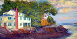House at Ft. Sewell, Painting